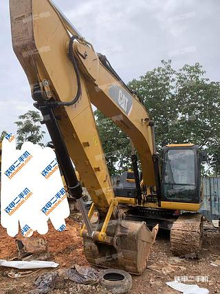 廣州卡特彼勒320D液壓挖掘機實拍圖片