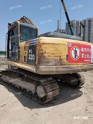 绍兴小松PC200-8挖掘机实拍图片
