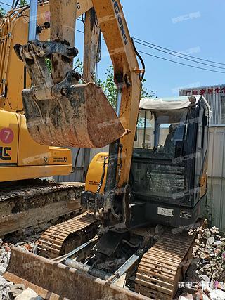 福州柳工CLG906E挖掘機實拍圖片