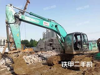 湖北-襄阳市二手神钢SK210LC-8挖掘机实拍照片