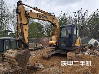 柳工CLG908D挖掘机实拍图片