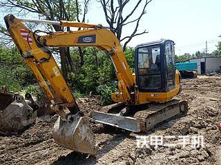 雷沃重工FR60挖掘機實拍圖片