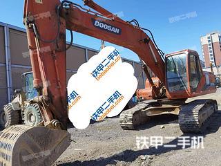 北京斗山DH220LC-7挖掘机实拍图片