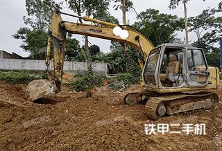 住友SH120A2挖掘机实拍图片