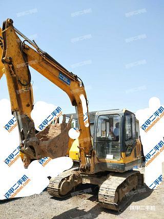 安康愚公機械WY75-8挖掘機實拍圖片