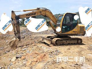 二手玉柴 YC85-6 挖掘机转让出售