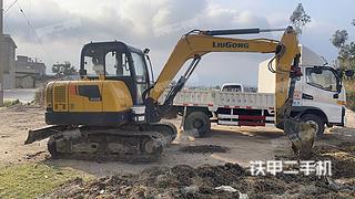 曲靖柳工CLG906E挖掘機實拍圖片