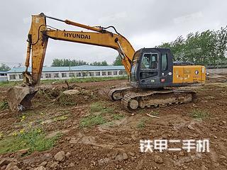 淮安現代R215-7C挖掘機實拍圖片