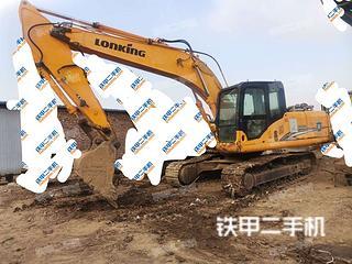 邢臺龍工LG6225挖掘機實拍圖片