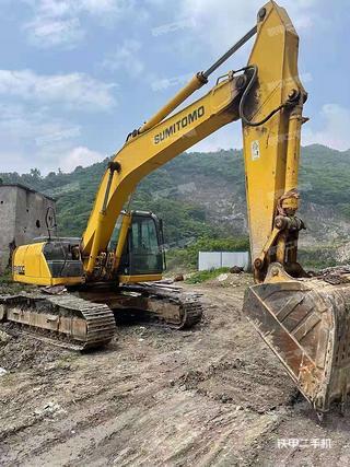 住友SH350LC-5挖掘機實拍圖片