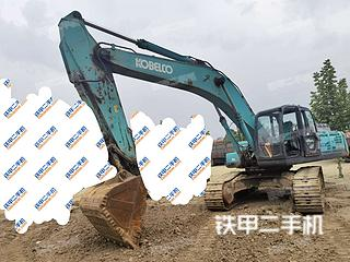 山东-济宁市二手神钢SK350LC-8挖掘机实拍照片