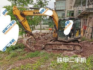 四川-广安市二手三一重工SY75C挖掘机实拍照片