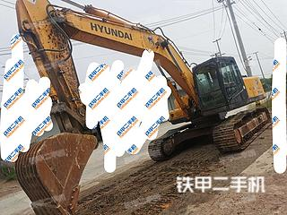 徐州現代R265LC-7挖掘機實拍圖片