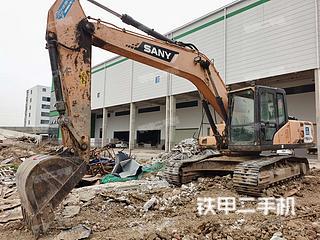 安徽-六安市二手三一重工SY215C挖掘机实拍照片