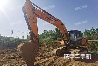 北京三一重工SY365H挖掘机实拍图片