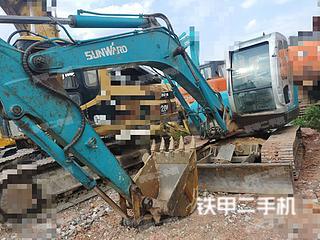 长春山河智能SWE80挖掘机实拍图片