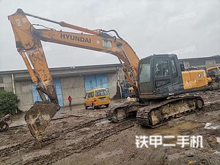 上海-上海市二手现代R215-7挖掘机实拍照片