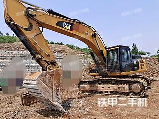 山东-临沂市二手卡特彼勒336D2液压挖掘机实拍照片