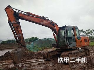 瀘州日立ZX120挖掘機實拍圖片