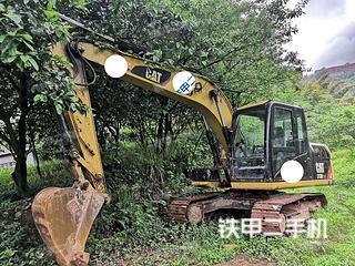四川-宜宾市二手卡特彼勒313D2GC小型液压挖掘机实拍照片