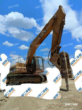 大理卡特彼勒320D液壓挖掘機實拍圖片