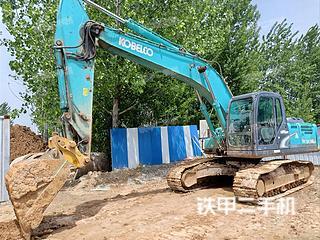 臨沂神鋼SK210LC-8挖掘機實拍圖片