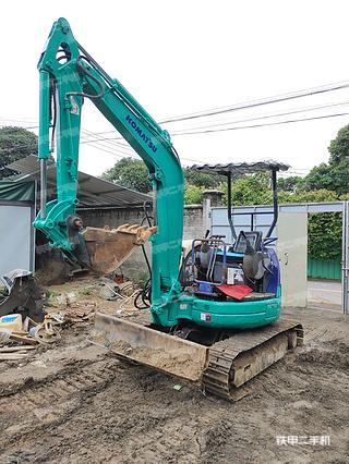 小松PC30MR-1挖掘机实拍图片