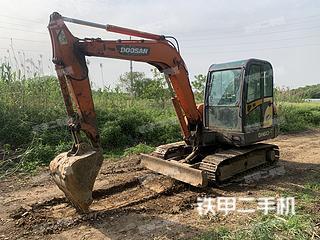 江苏-镇江市二手斗山DH60-7挖掘机实拍照片