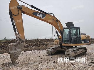 襄陽卡特彼勒320DGC液壓挖掘機實拍圖片