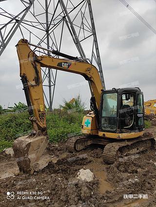卡特彼勒308D挖掘机实拍图片