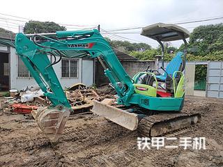 洋馬Vio30-3挖掘機實拍圖片