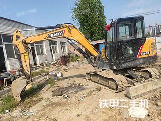 廊坊三一重工SY55C-10挖掘機實拍圖片