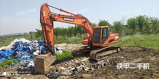 江苏-泰州市二手斗山DH200LC-7挖掘机实拍照片