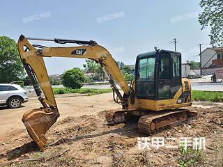 卡特彼勒306D液压挖掘机实拍图片