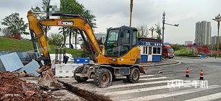 徐工XE60WD挖掘機實拍圖片