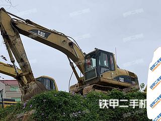 莆田卡特彼勒320C挖掘機實拍圖片