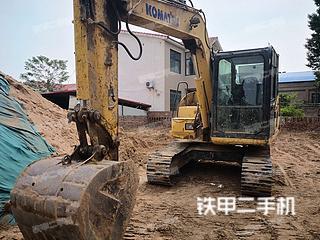 开封小松PC70-8挖掘机实拍图片