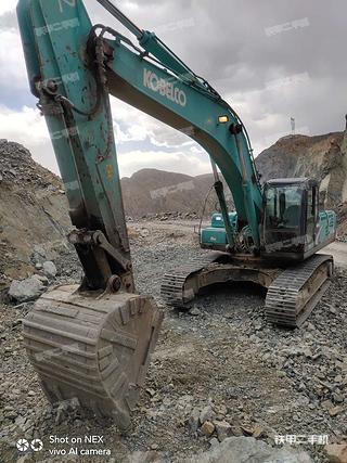 蘭州神鋼SK350LC-8挖掘機實拍圖片