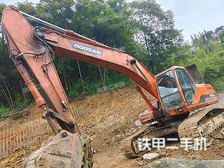 宜賓斗山DH258-7挖掘機實拍圖片