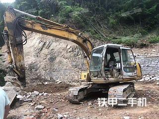 住友SH120-A3挖掘机实拍图片