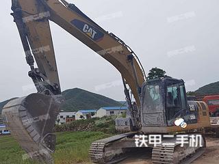 河南-南阳市二手卡特彼勒323D2L挖掘机实拍照片