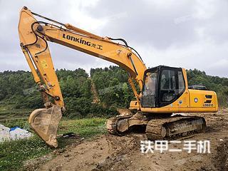 贵州-黔东南苗族侗族自治州二手龙工LG6215挖掘机实拍照片