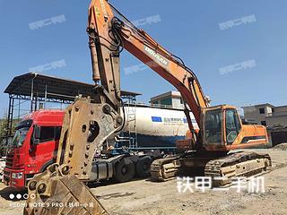 龍巖斗山DH370LC-7挖掘機實拍圖片