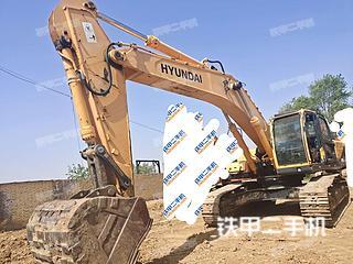 現代R385LC-9T挖掘機實拍圖片