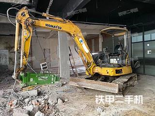 小松PC40MR-2挖掘机实拍图片