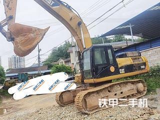 湖南-怀化市二手卡特彼勒336D液压挖掘机实拍照片