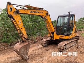 江苏-镇江市二手龙工LG6060挖掘机实拍照片