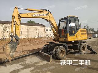 安康愚公機械WYL75挖掘機實拍圖片