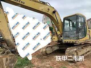 莆田小松PC120-6挖掘機實拍圖片