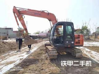 郑州日立ZX70-5A挖掘机实拍图片